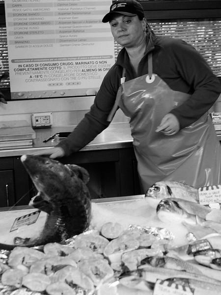 Italienische Fischmärkte