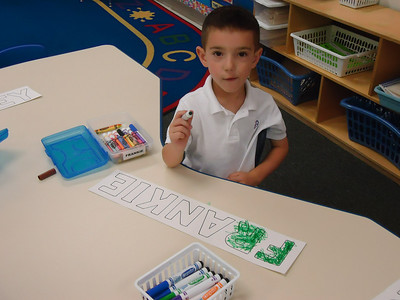 First Week of School in Pre-K