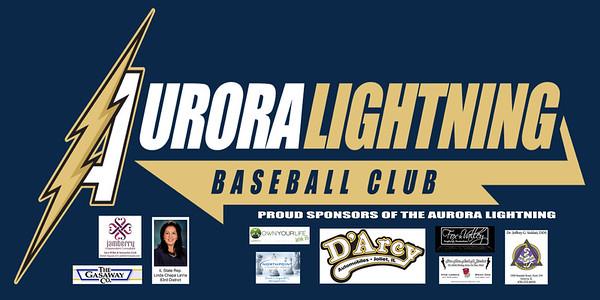 Aurora Lightning Banner