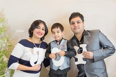 Vidushi's Family