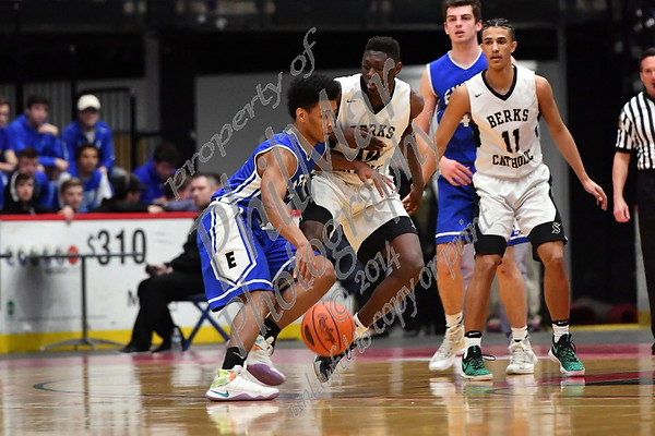 Berks Catholic vs Exeter Basketball Playoffs 2016 - 2017