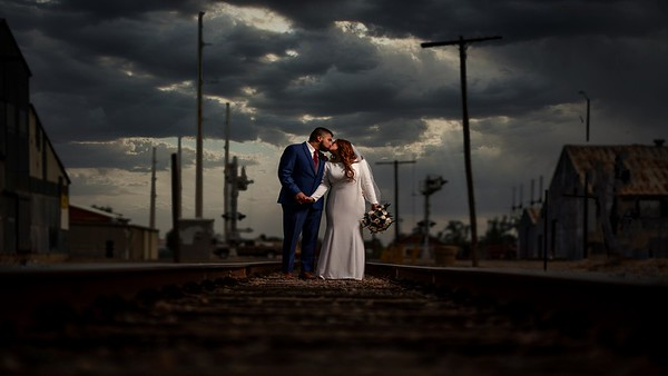 Roswell New Mexico Pecos Flavors Winery Summer Wedding 2020