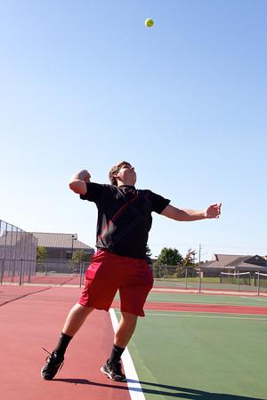 2013, Oct Boys Tennis Team