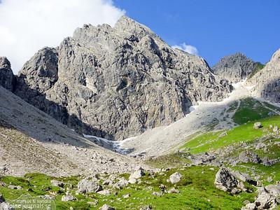 Abenteuer und Vergnügen alpine climbing at Angererkopf, 2014-06-27