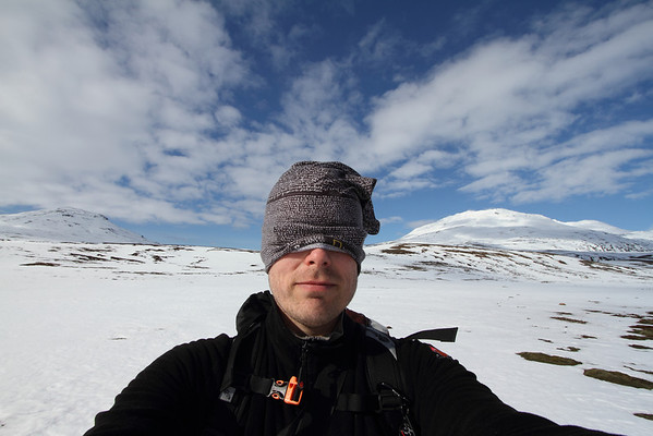 Búrfell í Þingvallasveit 29.03.2014