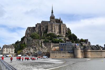 DDay 75 Day 7 Mont Saint Michel & Bény-sur-Mer