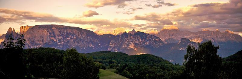 Bolzano , Dolomites , Italie le 31 juillet 2007