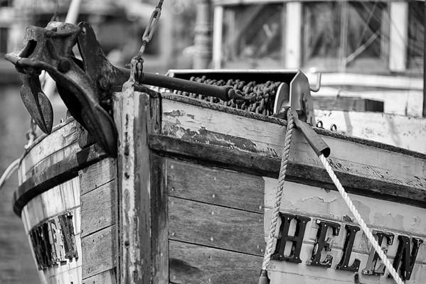 Boats b&w