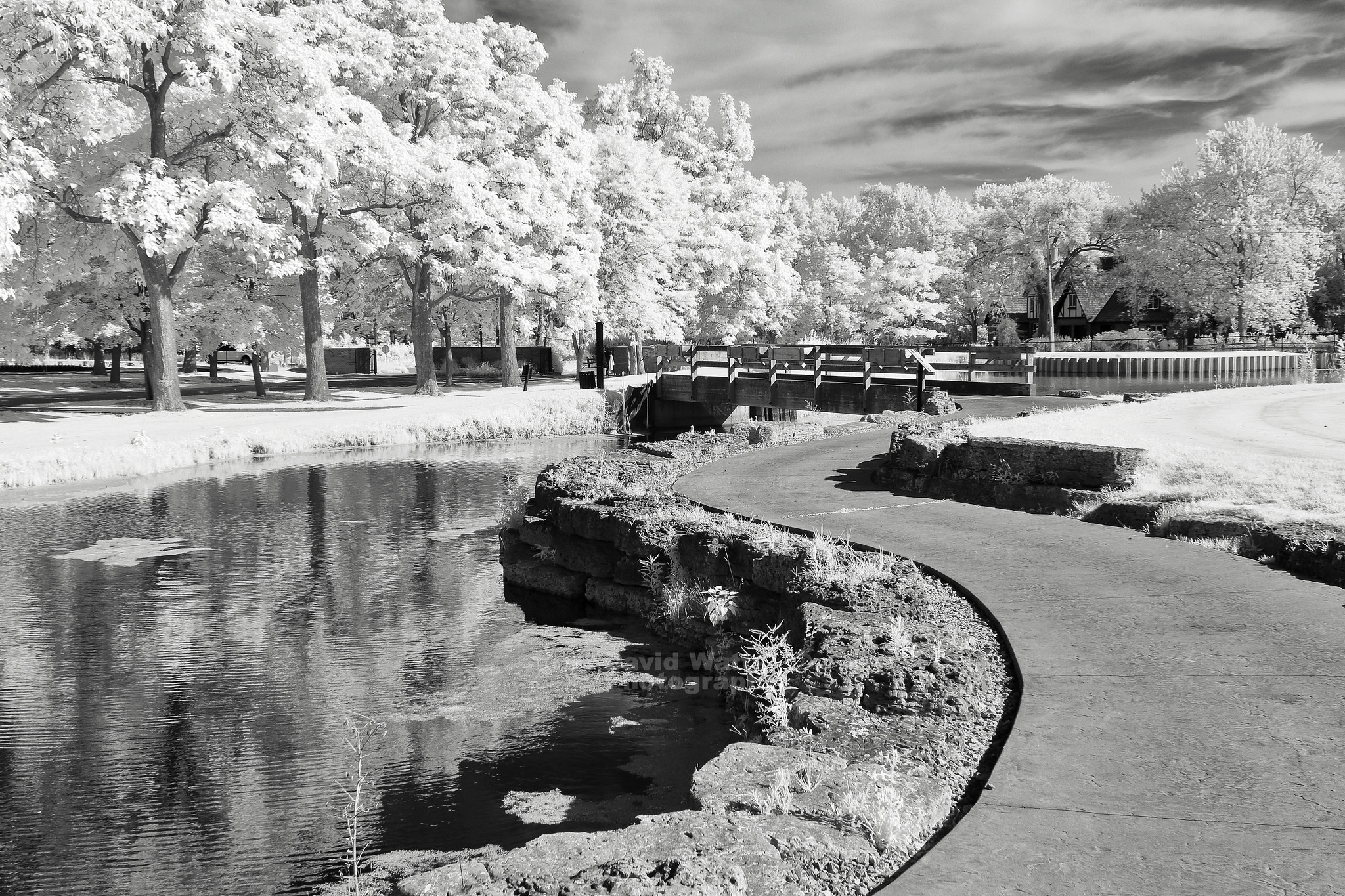 Cantigny in Winfield, Infrared