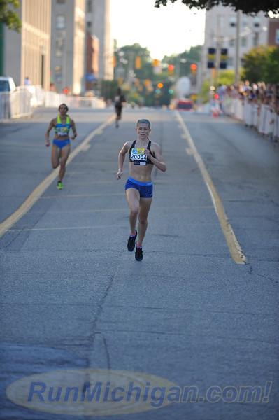 Elite Women's Mile Finish - 2016 Crim Festival of Races