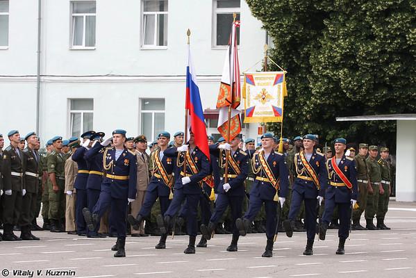 Ryazan Higher Military Airborne Command School graduation 2013
