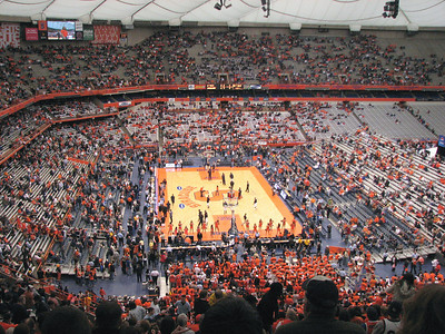 Basketball at Syracuse February 2008