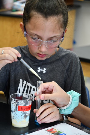 Seventh Graders Use STEAM Skills to Solve a Crime