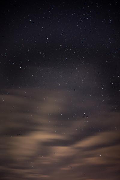 Starlight from northern Illinois