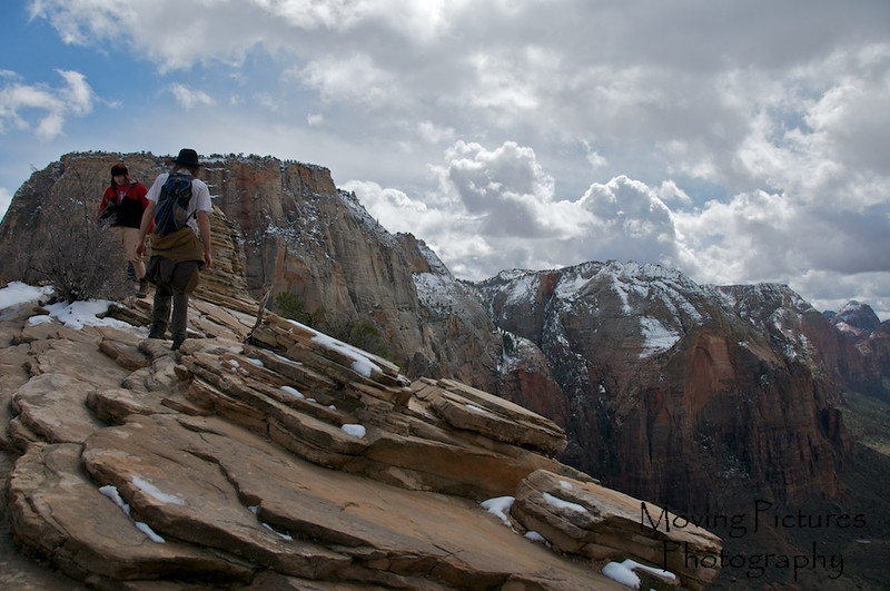 Zion National Park - Trail to Angel's Landing, nearing the summit