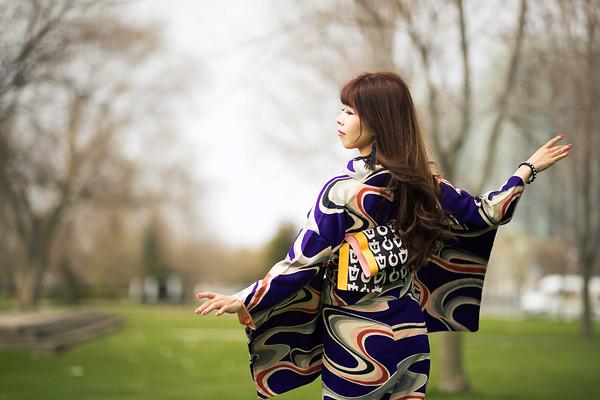 Sayumi Hirata Kimono