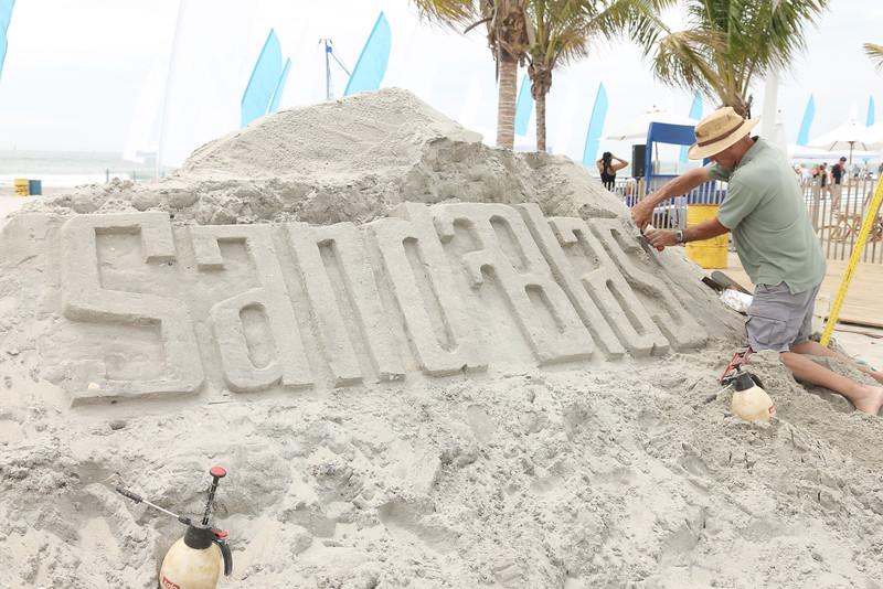 Sand Blast @ Bungalow Beach