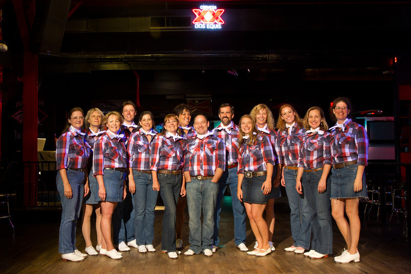 Perfect Cowboy Clogging Team