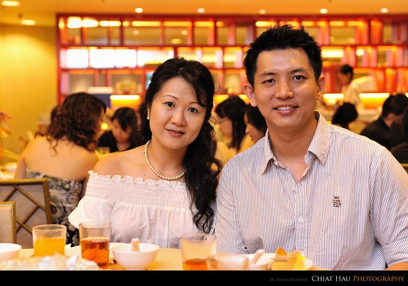 Kim Chin and Chin Leong