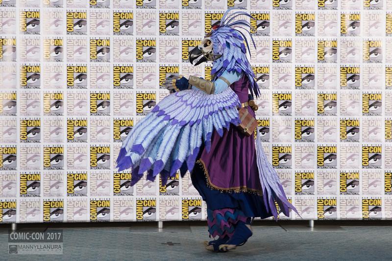Comic-Con 2017 Masquerade Backstage