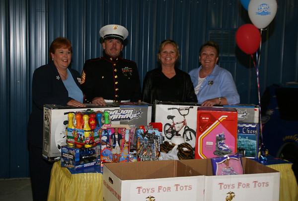 Fun Spot Toys for Tots night