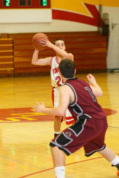 RCS JV Boys' Basketball vs Drew