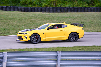 2020 SCCA TNiA Sept2 Pitt Race Adv Yellow Camaro