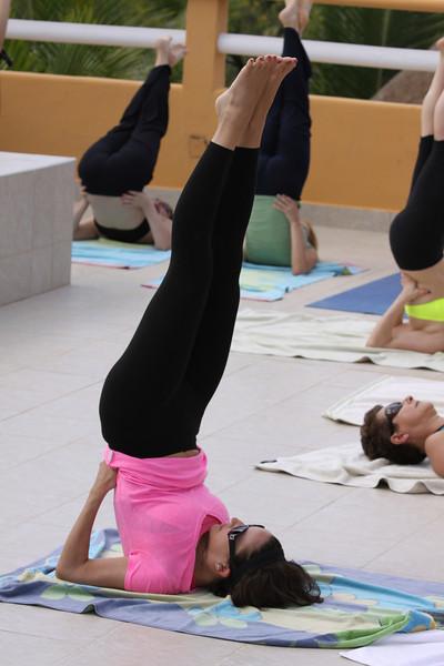 Jessica the yogi