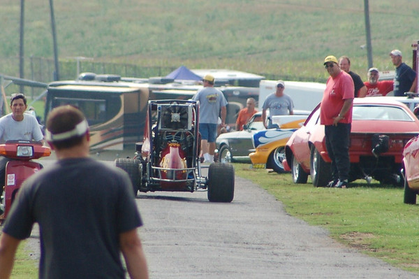 Our 600 on the Dragstrip