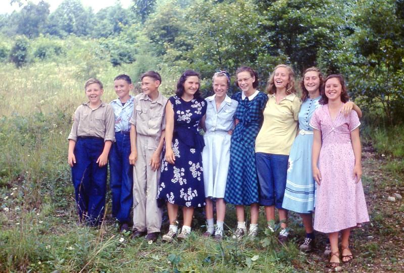 1951 - June DVBS Larimer Intermediates