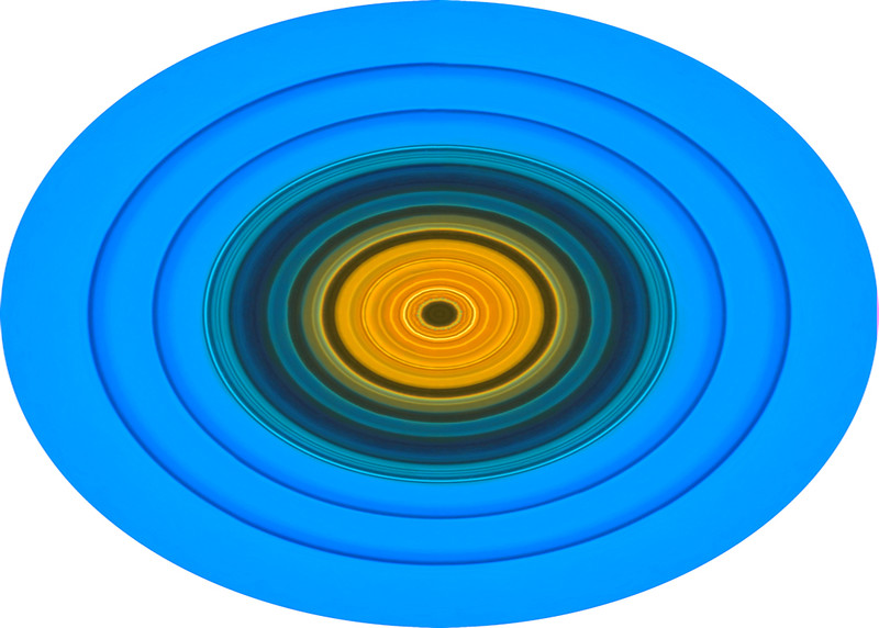 Coloured Glass 4~10457-3pco.
