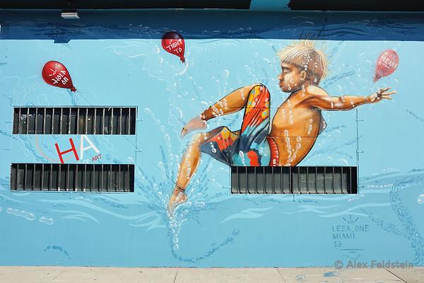 Miami Graffiti and Wall Art