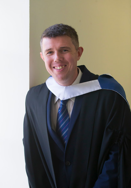 02/11/2018. Waterford Institute of Technology (WIT) Conferring Ceremonies 2018. Pictured is David Walsh from Mullinavat. Picture: Patrick Browne