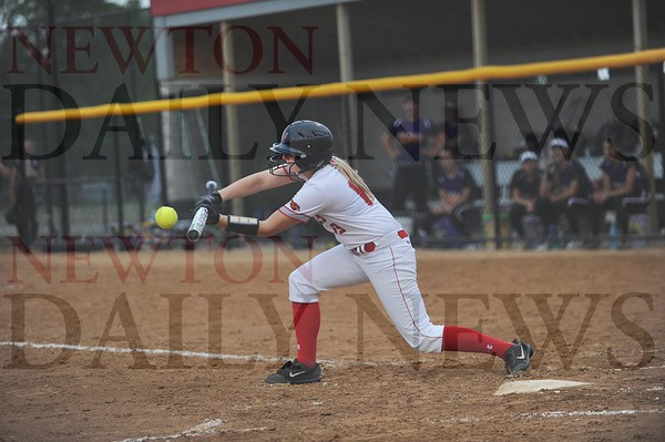 Newton softball, baseball vs. Indianola 6-17-2019