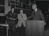 Mayor Hudnut at IPD Quarterly Awards, September 15, 1983, Img. 11, with Joseph McAtee