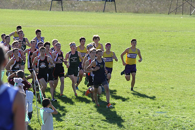 Kingsley XC Invite HS Boys Start
