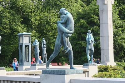 Oslo Vigeland Park - Bronze Sculptures