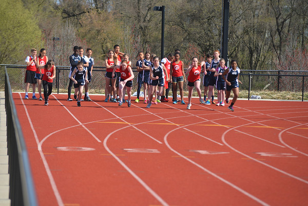Middle School Track 2014