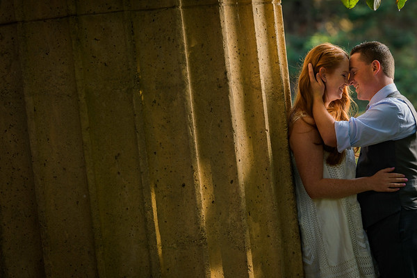 Kelly and Jeremy - Engagement at Palace of Fine Arts / Marin Headlands