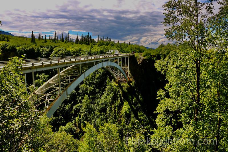 The Hurricane Gulch Bridge