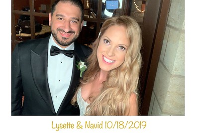 Lysette & Navid  10/18/2019