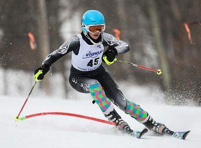 NYSPHSAA Girls Slalom Championships 2-24-14