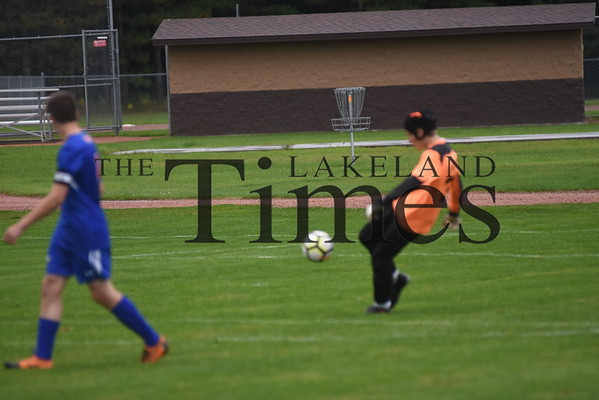 Lakeland Boys' Soccer at Northland Pines September 12, 2019