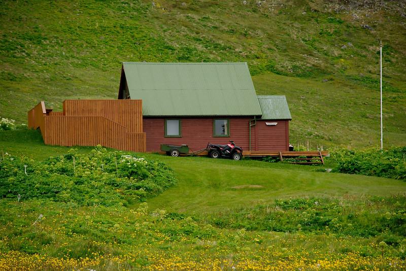 Aðalvík - Sæból. Garðar. 2013.