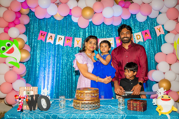 Vihaa's 2nd Birthday
