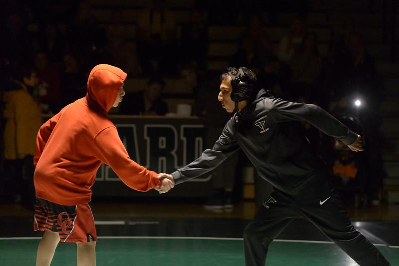 Tigard HS Varsity Wrestling vs Oregon City