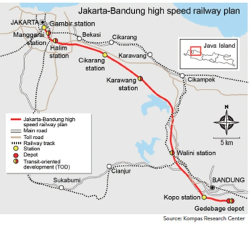 Indonesia will have a high-speed rail by 2021