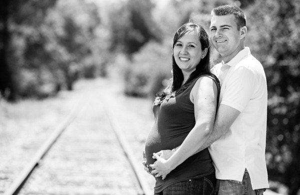 Sandra and Nathan Maternity
