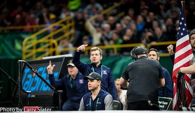 Coach Tom Brands