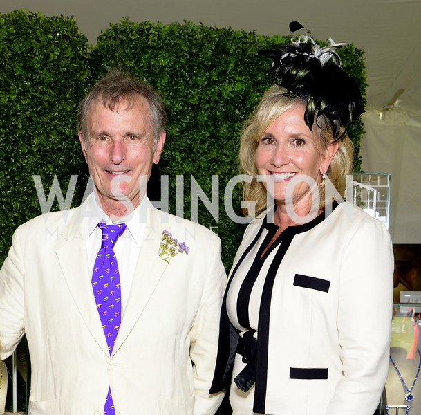 David Ford and Elizabeth von Hassell,  NSLM 2019 Polo Classic Great Meadow Sep 15 2019 Photo by Nancy Milburn Kleck